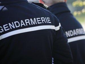 Après l'intervention des automobilistes, les gendarmes ont pris en charge la jeune femme.