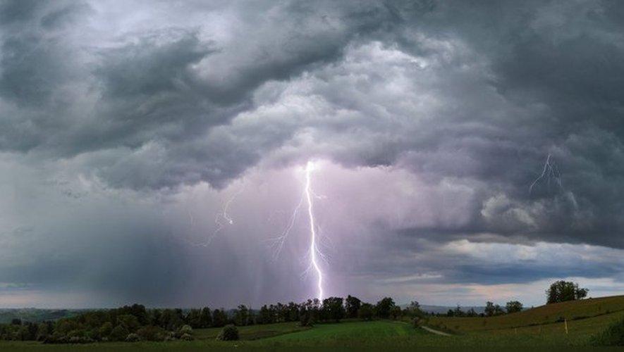 Risque d'orages forts et de grêle : l'Aveyron en alerte pour la soirée