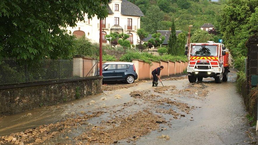 Orages : Espalion de nouveau touché, de nombreux dégâts sont à déplorer