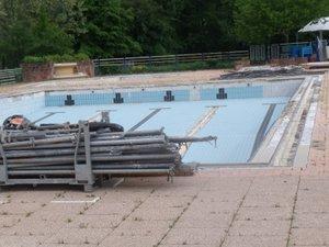 La piscine ouvrira début juillet