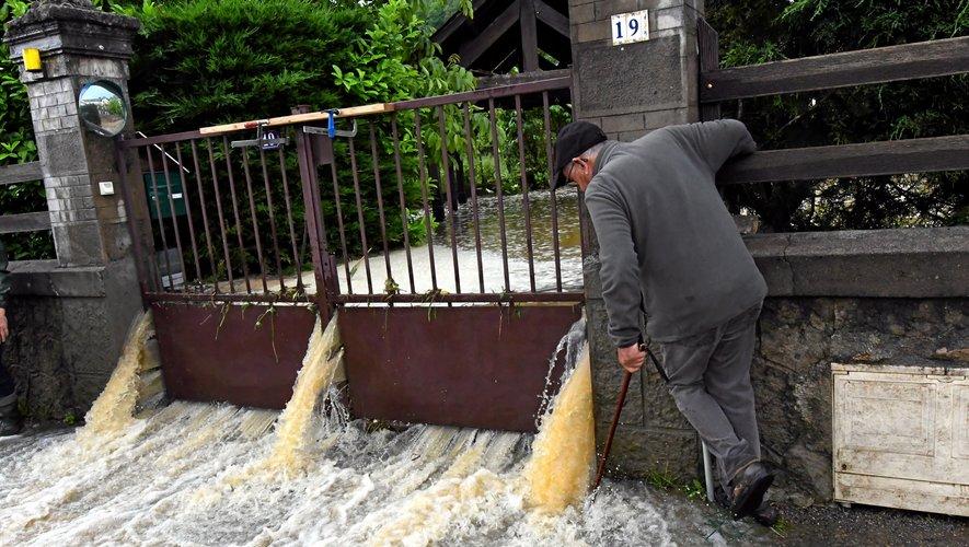 Météo : une résurgence à l'origine des inondations à Espalion