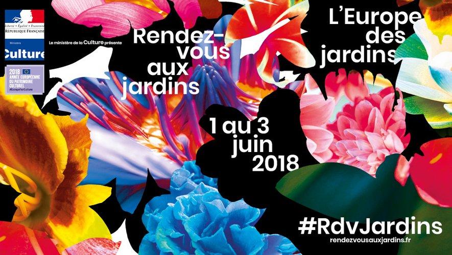 Rendez-vous aux jardins : retrouvez le programme en Aveyron