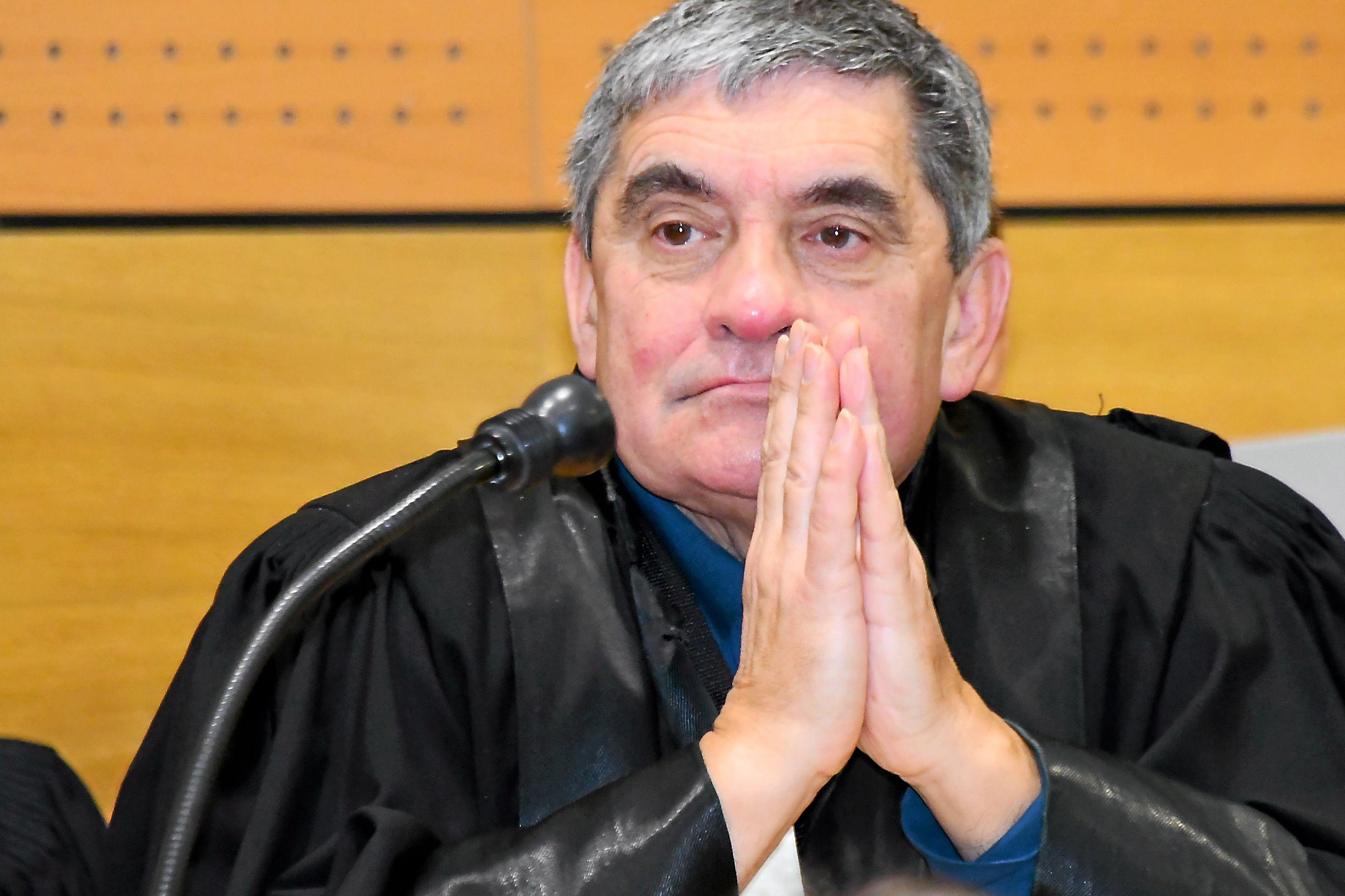 Le juge Hervé Olivier.