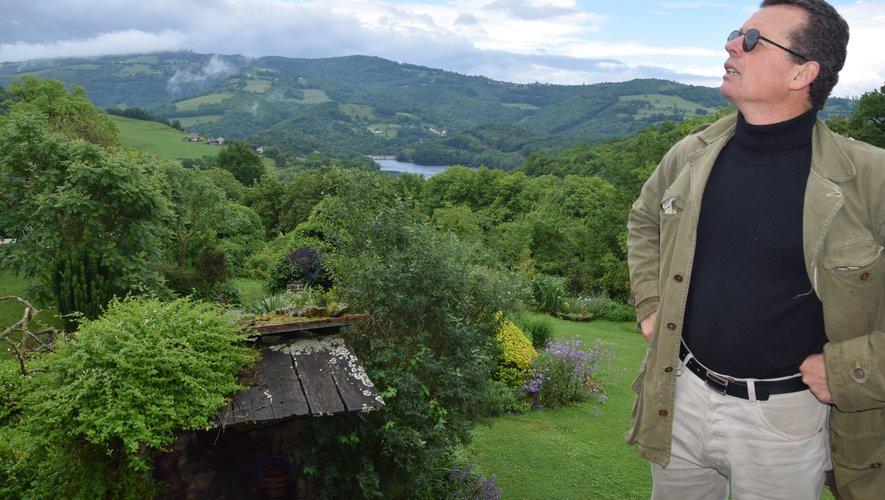 Nature Bienvenue au jardin suspendu de Castelnau-de-Mandailles Vingt-et-un jardins s'ouvrentau public ce week-end Précurseur en la matière