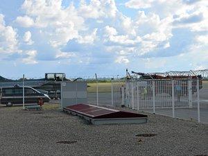 Un Rafale s'est posé en urgence sur le bitume ruthénois, aujourd'hui, lundi 4 juin.