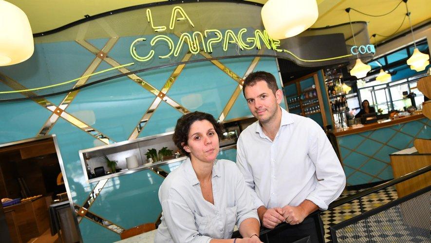 Gwenaëlle et Yannick Gilet, chefs de La Compagnie.