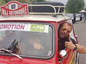 Jean-Philippe Majorel prend le volant du rallye.