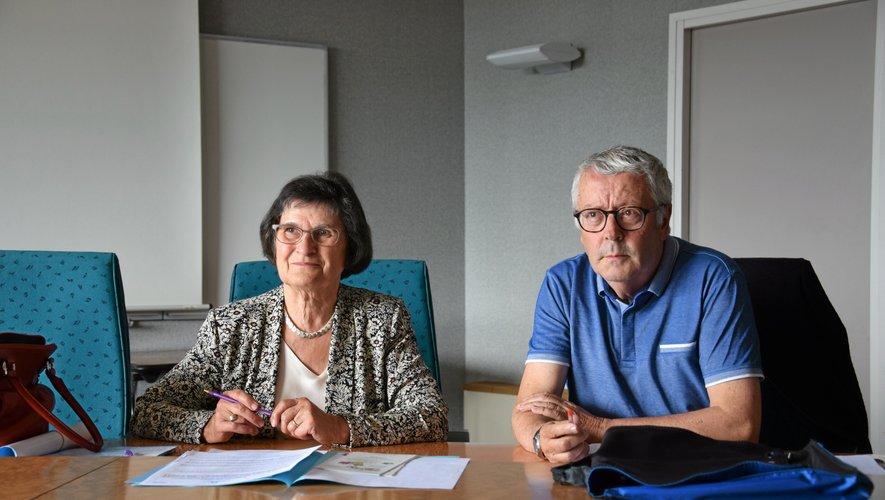 Jacqueline Faissenet et Michel Mazars lors de la présentation de la 5e édition.