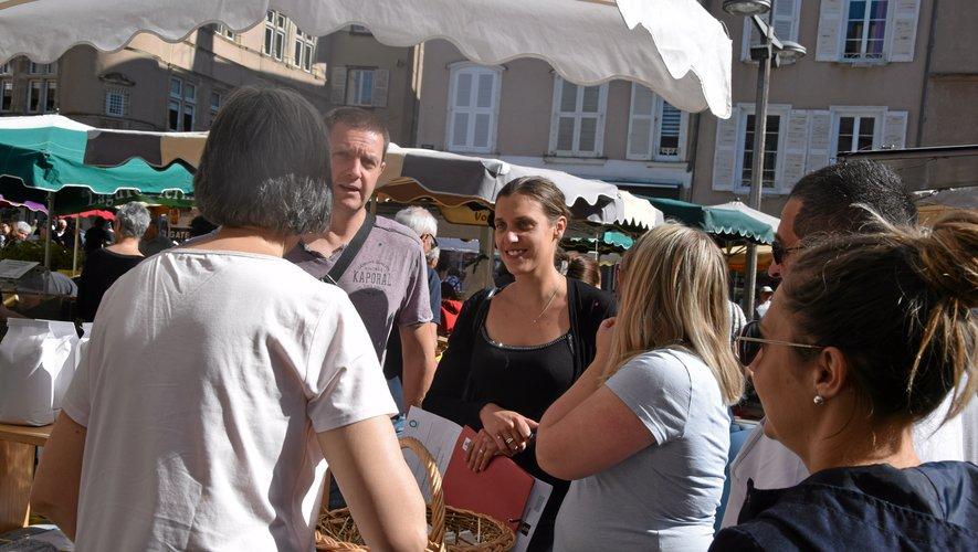 Les familles Castonétoises ont pris du plaisir sur le marché.