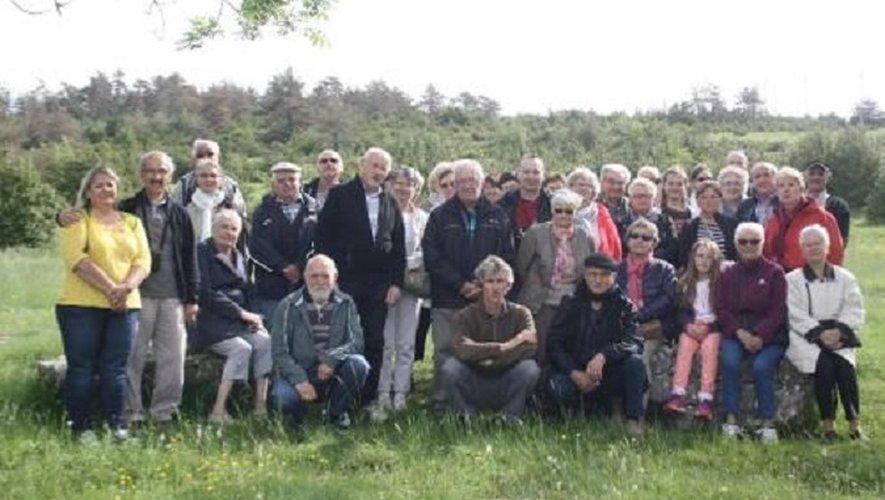 Les participants à cette traditionnelle sortie annuelle.