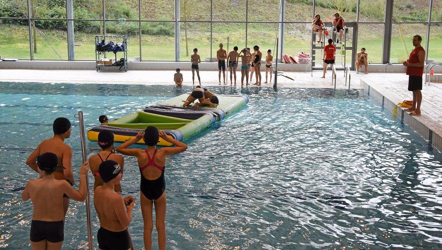 Natation Au pôle aquatique, cet été, c'est l'occasion d'appendre à nager