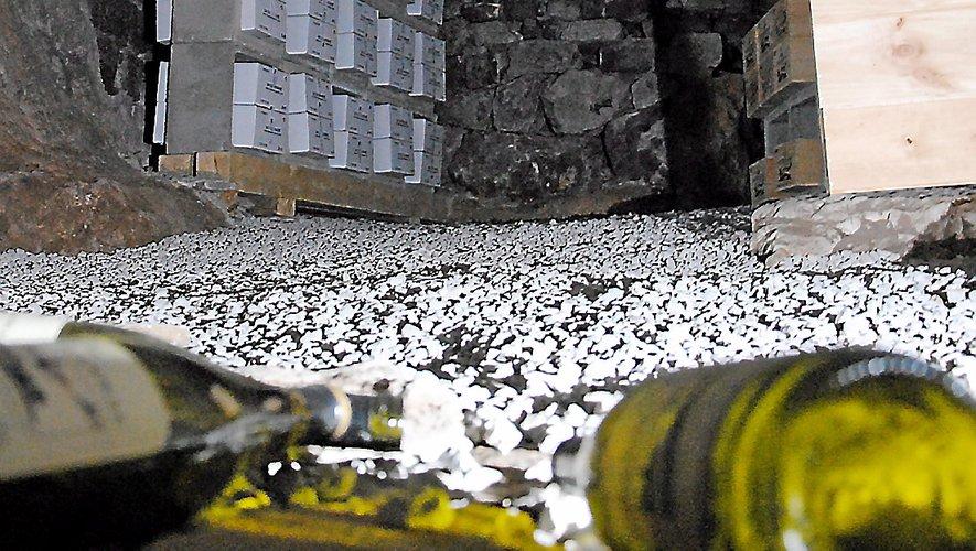 Le Mas Daumas Gassac fera vieillir chaque année 500 bouteilles d'un même millésime.  V. G.