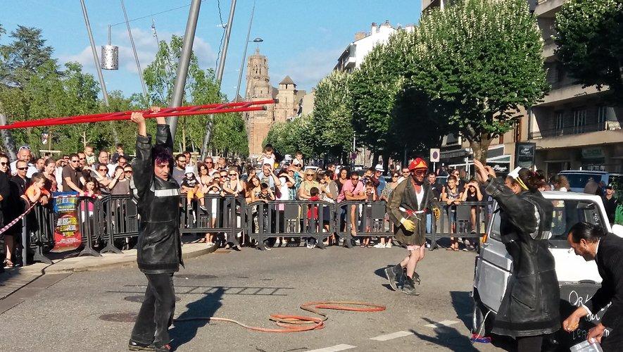 Les pompiers animeront le 14-Juillet sur l'esplanade des Rutènes (Photo archives CPA).
