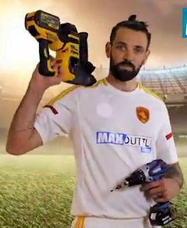 La publicité aperçue lors de la finale de la Ligue des champions.