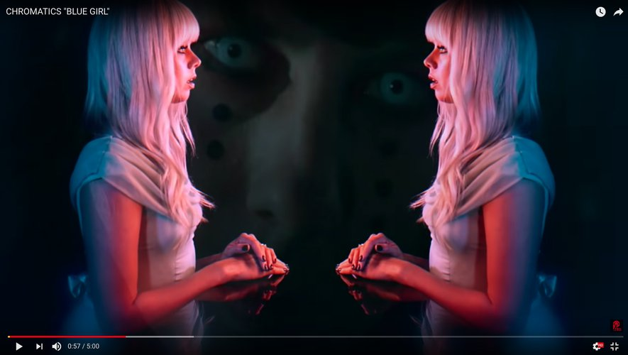 """Blue Girl"", le nouveau clip de Chromatics."