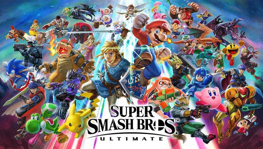 """Une armée d'anciens et quelques nouveaux personnages à retrouver dans """"Super Smash Bros. Ultimate""""."""