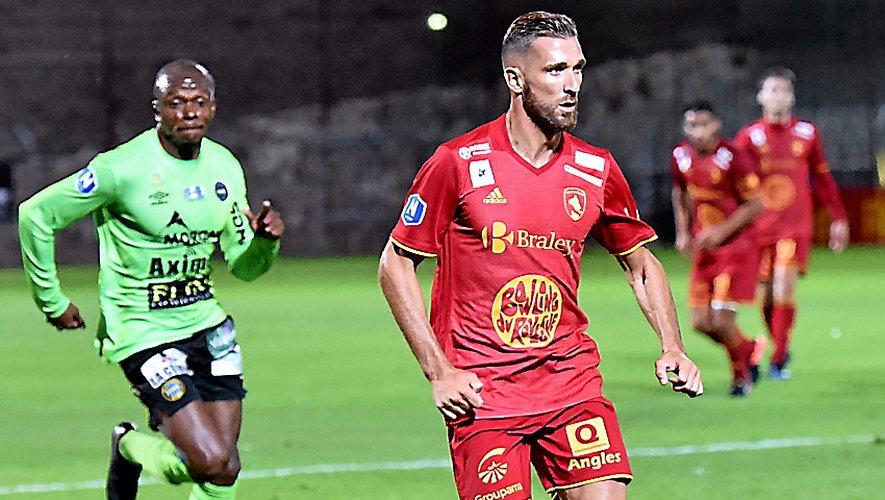 Maxime Ras, ici contre Chambly, part en région parisienne.