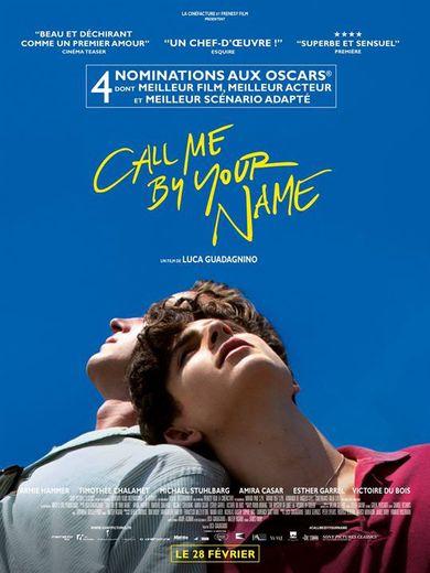 """""""Call me by your Name"""" de Luca Guardagnino est sorti le 28 février dernier."""