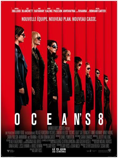 """""""Ocean's 8"""" a déjà récolté plus de 64 millions de dollars au box-office mondial."""