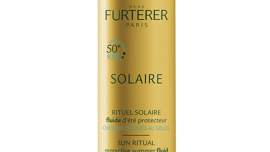 Le Fluide d'été protecteur, Rituel Solaire, par René Furterer - Prix : 13,90€ les 100 ml - Site : www.renefurterer.com.