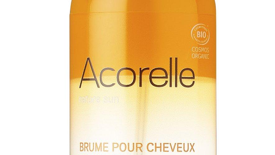 La Brume pour Cheveux par Acorelle - Prix : 17€ les 100 ml - Site : www.acorelle.fr.