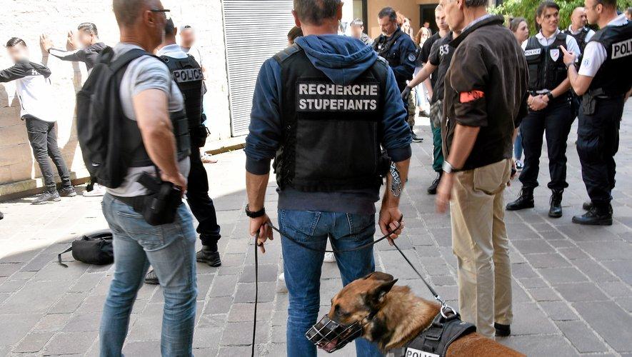 Agglo La police à pied d'œuvre contre les incivilités et les trafics