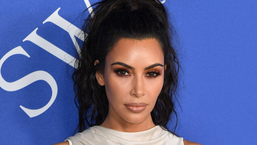 Kim Kardashian West lors des 2018 CFDA Fashion awards
