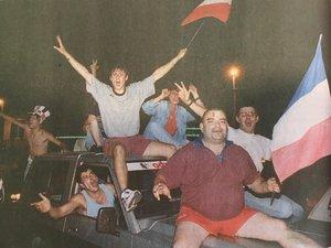 Souvenirs : quand Rodez fêtait la victoire des Bleus en 1998