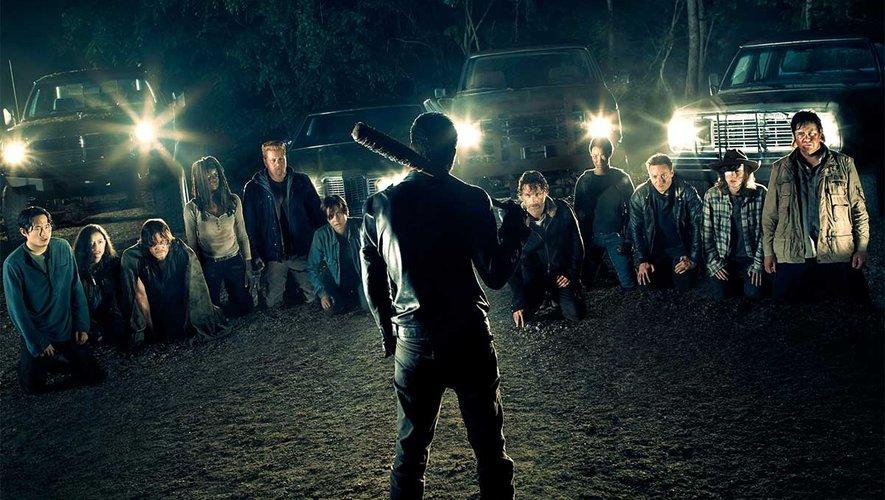 """La série """"The Walking Dead"""" a été lancée sur la chaîne AMC en octobre 2011."""