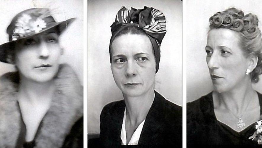 Yvonne, Thérèse et Jeanne Moncet, trois sœurs qui n'ont pas hésité à mettre leurs vies en danger pour sauver une famille juive durant l'occupation nazie.