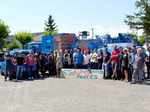 Plusieurs sites EDF de l'Aveyron bloqués