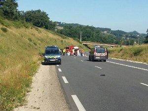 Deux motards blessés dans une collision à Firmi