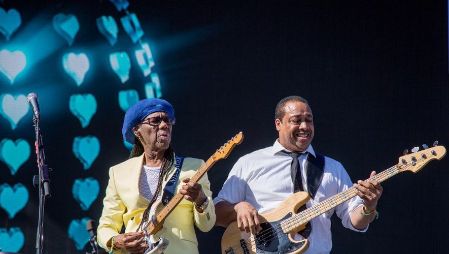 Nile Rodgers et CHIC sont actuellement en tournée.