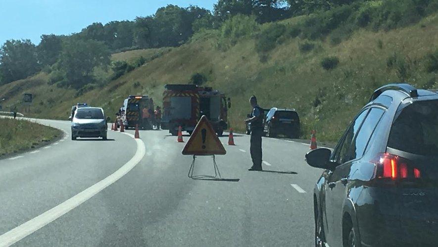 Accident de la RD840 : un camion activement recherché