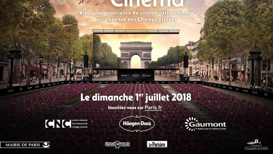 """""""Les Visiteurs"""" sera projeté en plein air sur les Champs-Elysés le 1er juillet"""
