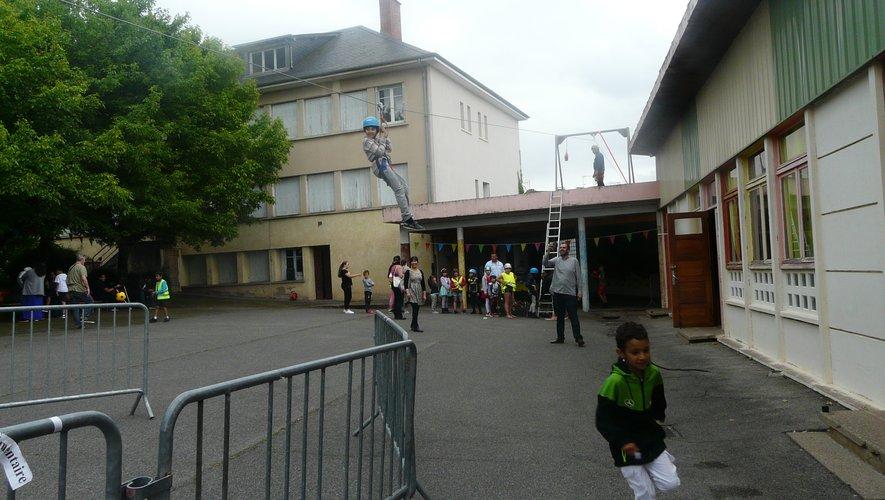 Plein succès pour la kermesse  de l'école Sainte-Bernadette