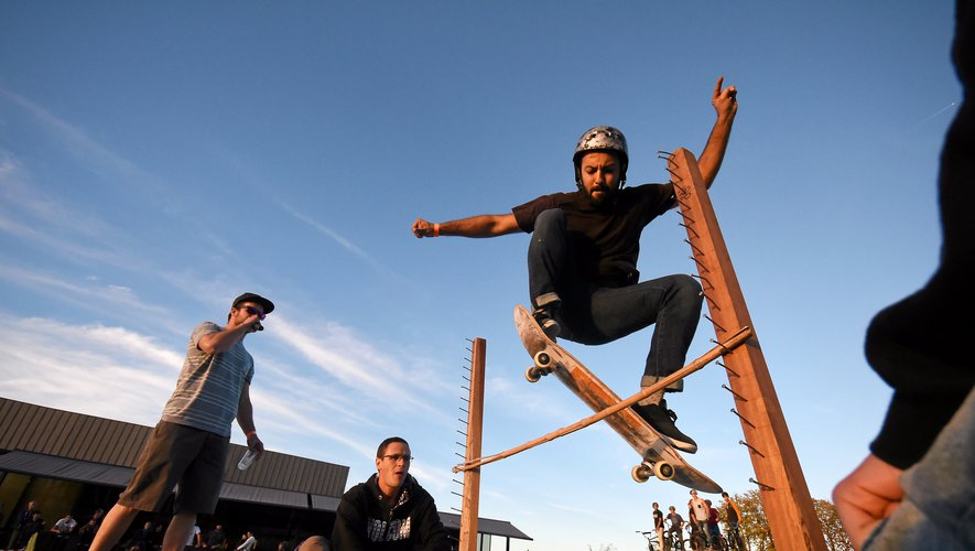 Sports Urbains Ambiance sur l'esplanade des Rutènes
