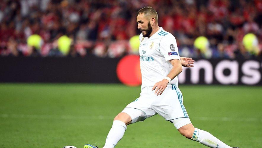 Le Français Karim Benzema n'a pas été sélectionné pour la Coupe du monde 2018 par Didier Deschamps.