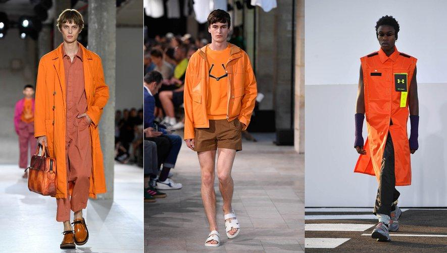 Orange - Dries van Noten / Hermès / Palm Angels