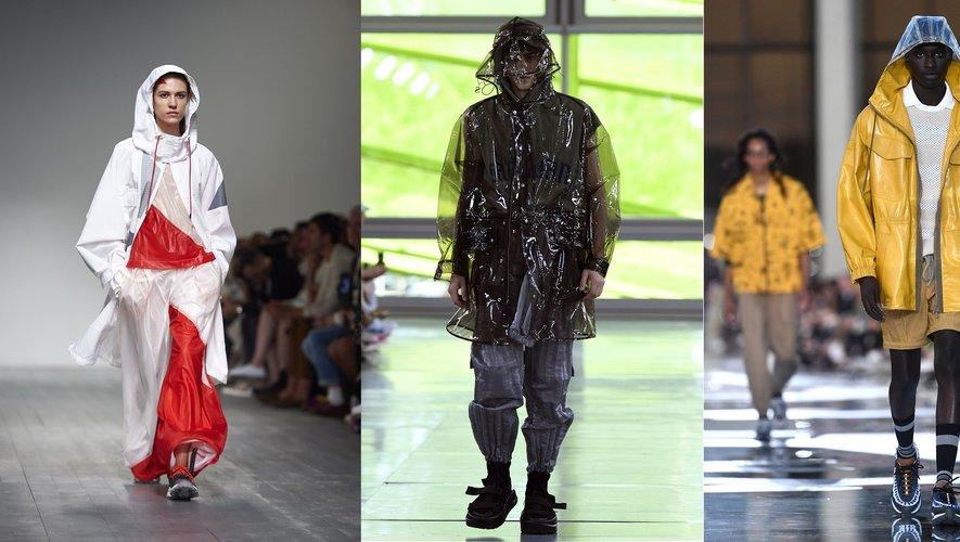 Vêtements de pluie - Christopher Raeburn / Sankuanz / Ermenegildo Zegna