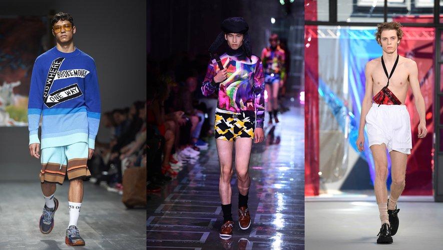 Chaussettes montantes : Liam Hodges / Prada / N°21