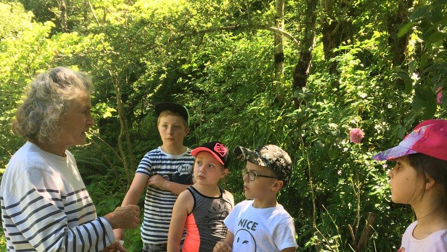 Les écoliers de Murassonont découvert le village