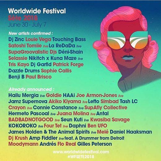Le World Wide Festival de Sète se tiendra du 30 juin au 7 juillet