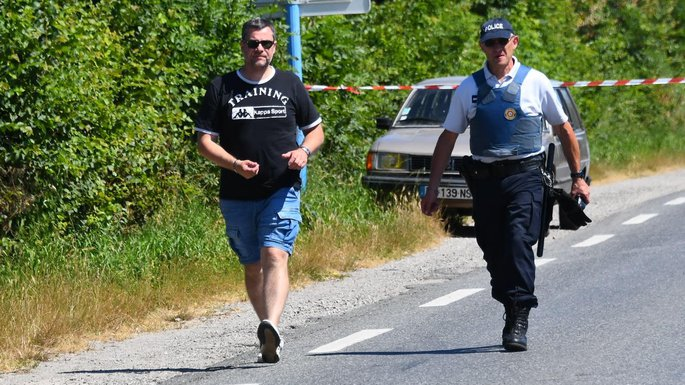 Jean-Michel Lemourier, à gauche sur la photo.