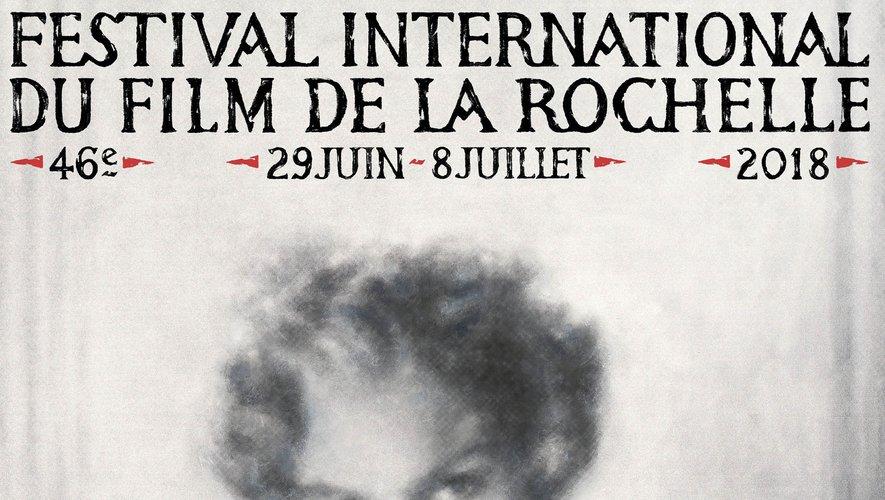 L'affiche du Festival International du Film de la Rochelle 2018.