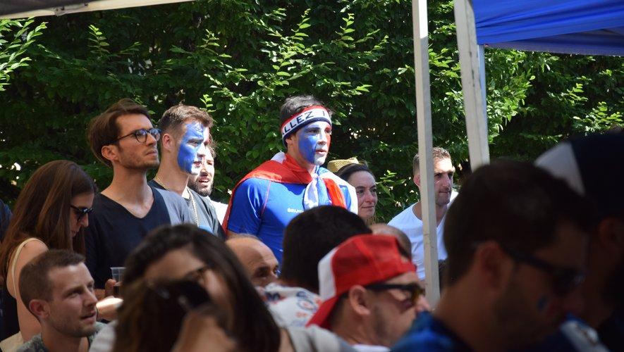 La France en quart de finale : Rodez explose de joie !