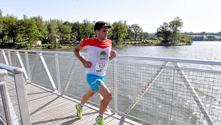 Le vainqueur de l'édition 2018 du Sentier du lac (Photo Jean-Louis Bories).