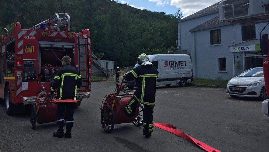 Les pompiers sont intervenus sur le site de l'ex-SOPAVE.