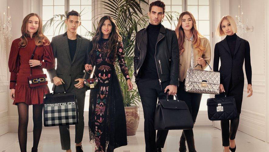 Furla réunit six influenceurs de renom pour sa campagne automne-hiver 2018-2019.