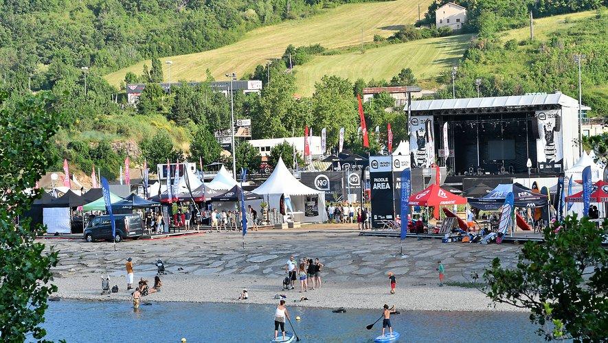 Le public sur les épreuves sportive a été limité (Photo Eva Tissot/ML).